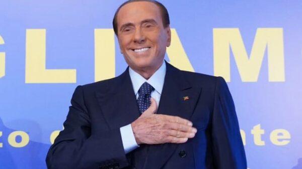 Silvio Berlusconi este fin de semana en un acto de Forza Italia