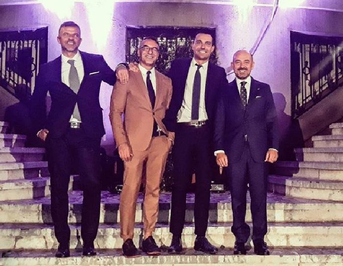 De izq. a drcha Ra Castillo, Abel Arana, Rubén Cuenca, Miguel Ángel Villanueva