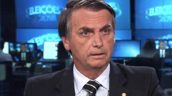 Jair Bolsonaro, candidato presidencial en Brasil