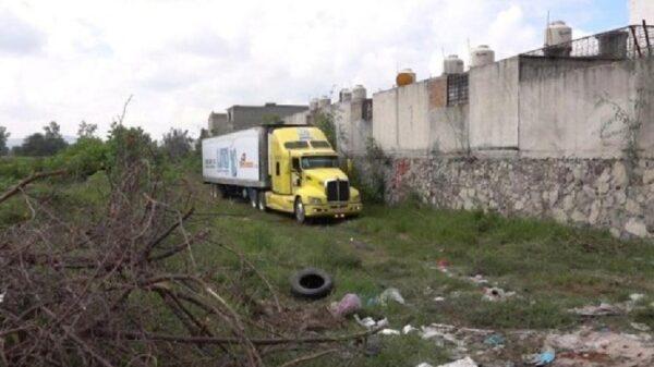El camión que transportaba 150 cadáveres en Jalisco