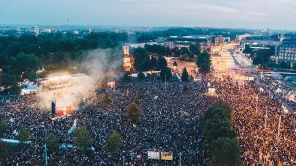 El concierto celebrado en Chemnitz