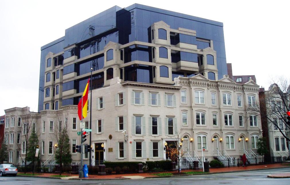 La embajada de España en Estados Unidos