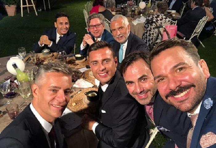De atrás hacia delante: santiago Tovar, Manuel Ródenas, Stefano Sannino, Nano García, José Santamaría, Pedro Carrillo y Juan Martín Boll