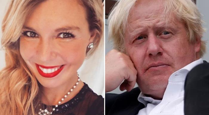 Carrie Symonds y Boris Johnson