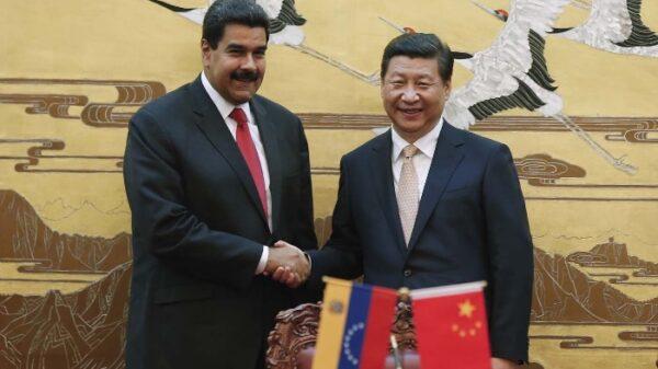 Nicolás Maduro y el presidente de China, Xi Jinping