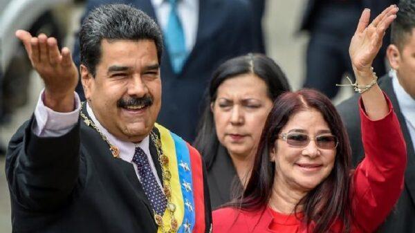 Nicolás Maduro y su mujer, Cilia Flores