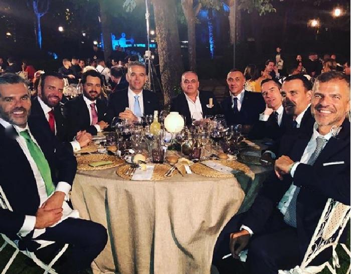 Se Izq a derecha: Fernando Encinar, Ángel Ruiz, Daniel Calamonte, Jesús Encinar, Pepe Carretero, David y Manuel García (García Madrid) Rubén Cuenca, Ra castillo