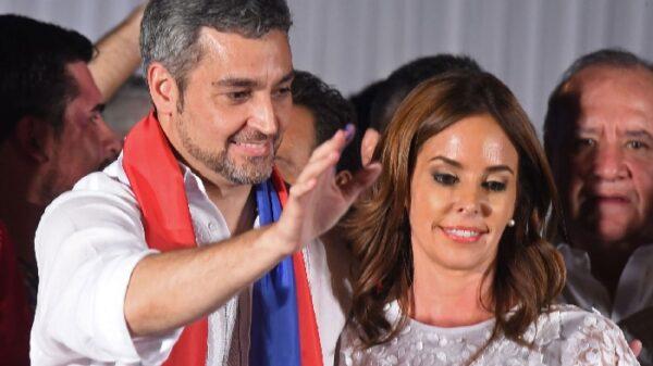El presidente de Paraguay, Mario Abdo