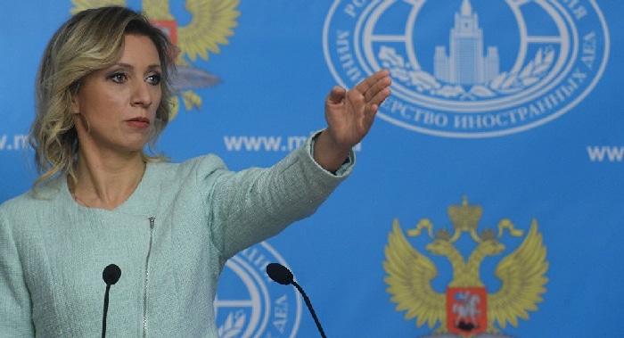 La portavoz del ministerio de Asuntos Exteriores ruso, Maria Zakharova