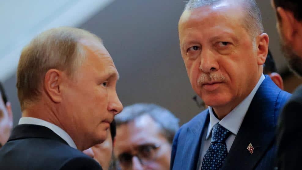 Vladimir Putin y Tayyip Erdogan, en Sochi