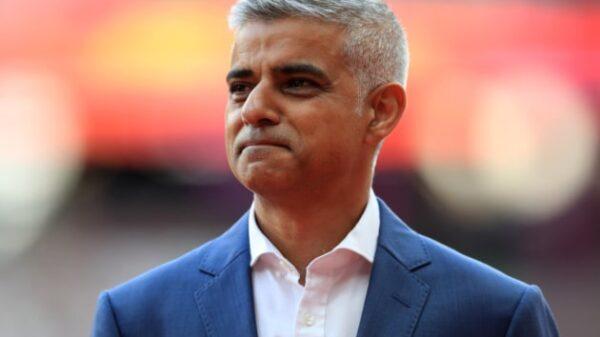El alcalde de Londres,Sadiq Khan
