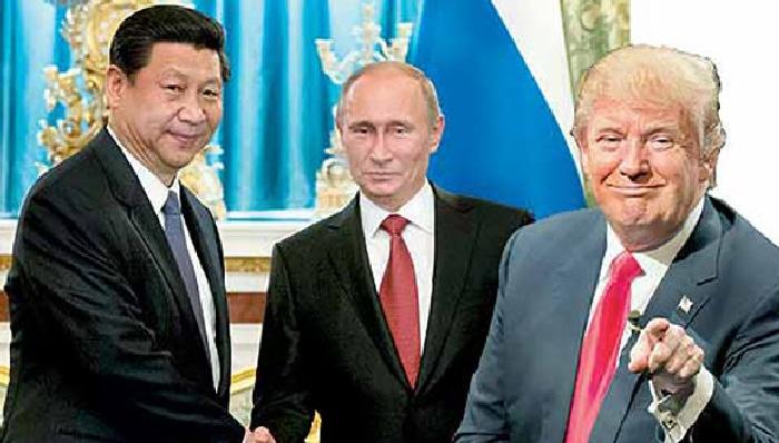 Resultado de imagen para rusia china eeuu