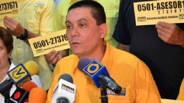 El concejal venezolano Fernando Albán