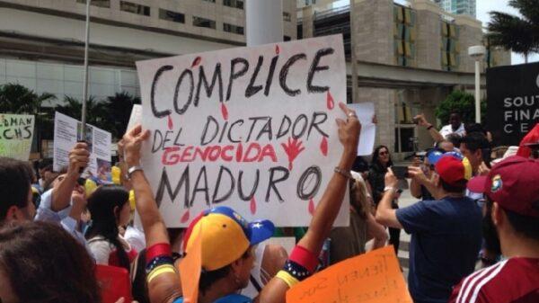 Exiliados venezolanos