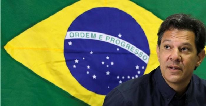 El candidato presidencial Fernando Haddad