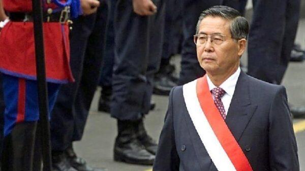 El expresidente de Perú Alberto Fujimori en una imagen de archivo