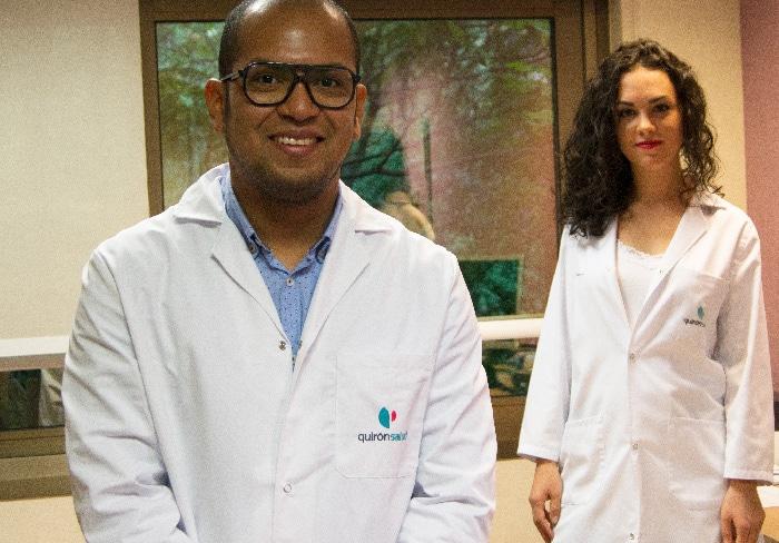 El doctor Gilberto Pérez López y la dietista María Martínez Ferrán