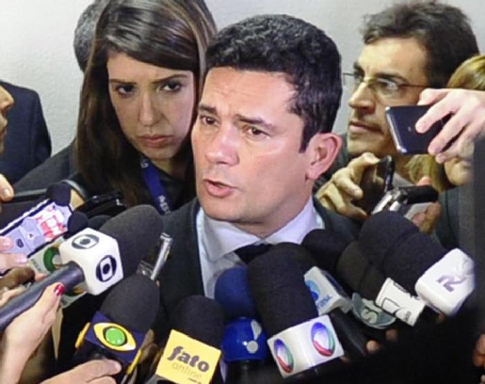 El juez Sergio Moro ante los medios