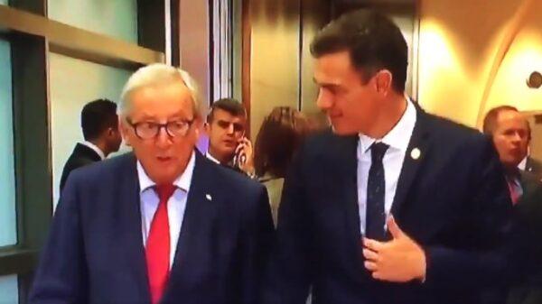 Juncker y Sánchez