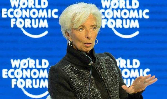 Christine Lagarde, directora del BCE