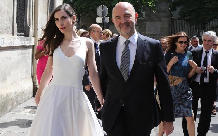 Moscovici y su mujer, Anne-Michelle Bastèri