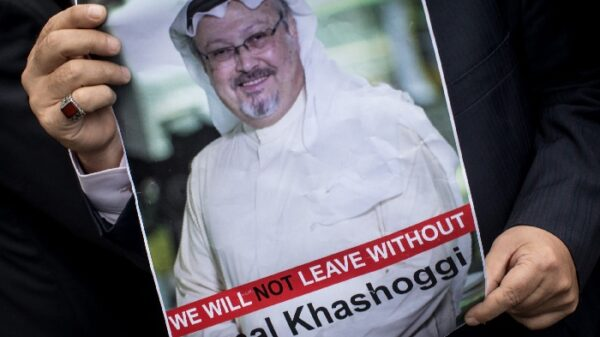 Cartel de búsqueda del periodista Jamal Khashoggi