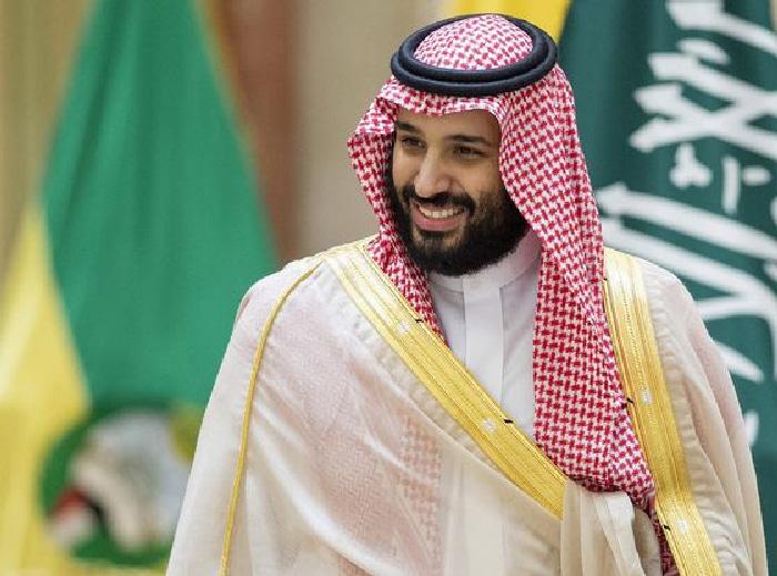 El príncipe Mohamed bin Salman