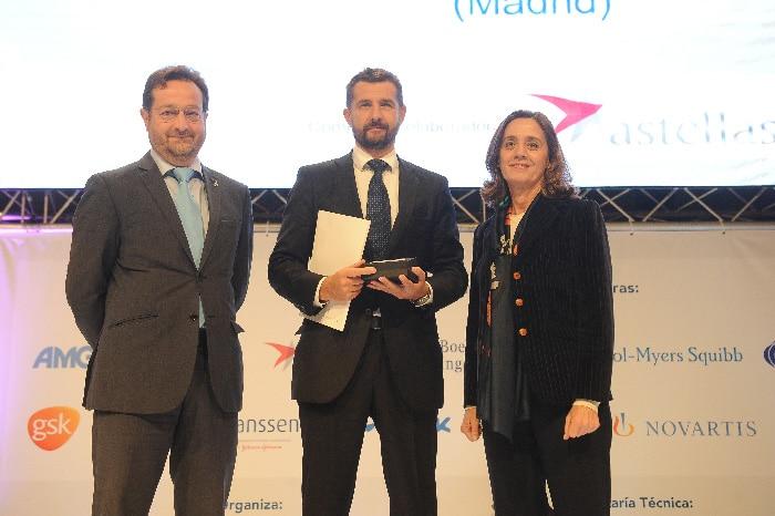 El Dr. Sánchez Encinas recogió el Premio BIC al Mejor Hospital en Urología