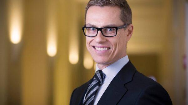 El exprimer ministro finlandés Alexander Stubb