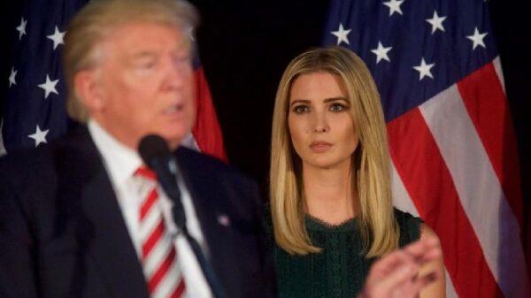 Donald Trump y su hija Ivanka