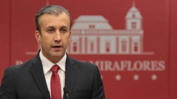 El vicepresidente venezolano de Economía, Tarek el Aissami