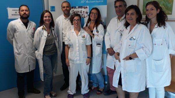 Equipo de la unidad, con participación de médicos de Neumología, Rehabilitación, Geriatría, Cuidados Paliativos y Neurología