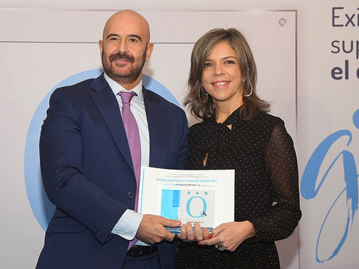 Josu Rodríguez, gerente adjunto de la FJD, recibe la QH+3 estrellas