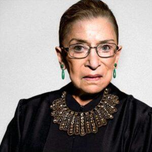 La jueza Ginsburg