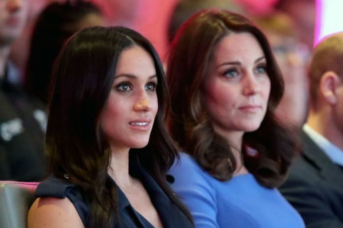 Meghan Markle y Catalina de Cambridge
