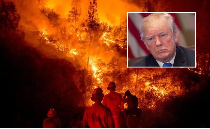 Incendios de California y Trump