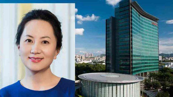 Meng Wanzhou, directora financiera de Huawei