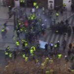 Disturbios de los chalecos amarillos en París