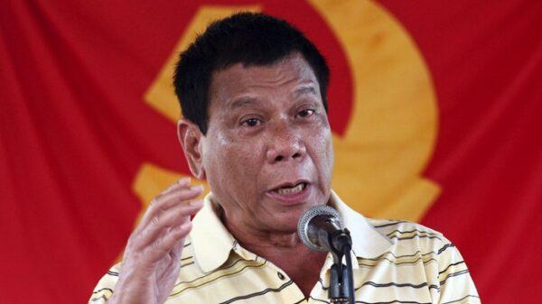 Rodrigo Duterte, presidente del Gobierno de Filipinas