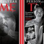 Jamal Khashoggi en la portada de 'Time'