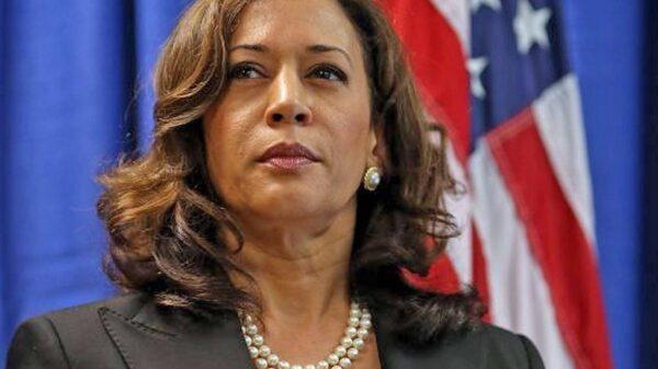 Kamala Harris, candidata a las elecciones presidenciales de 2020 por el partido demócrata