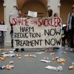 Manifestación contra la adicción a OxyContin