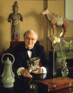 Arthur Sackler, uno de los fundadores del imperio farmacéutico