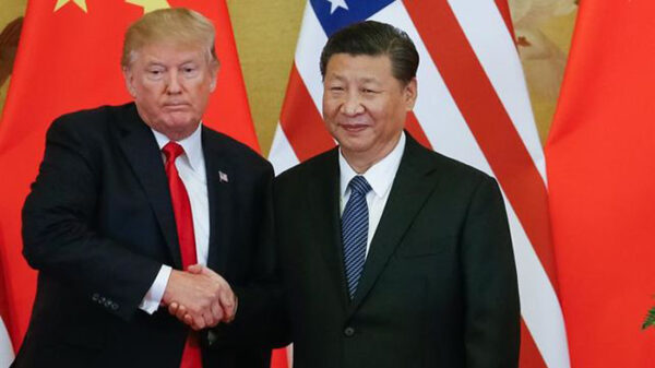 Donald Trump y Xi Jinping, presidentes de EEUU y China respectivamente