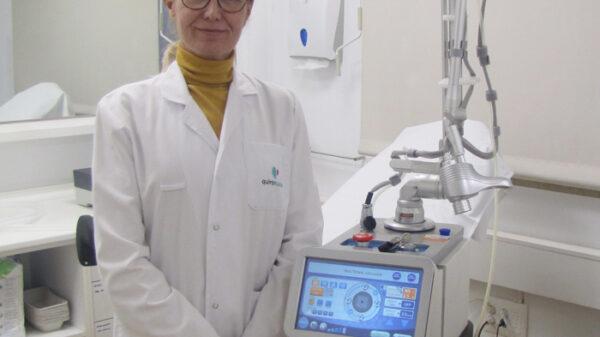 La doctora Arancha Moreno, jefa de Servicio de Ginecología y Obstetricia de Ruber Juan Bravo 49