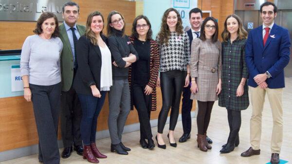 Ponentes del II Congreso sobre Cáncer de Mama para Pacientes y Familiares organizado por la Unidad de Mama del Hospital La Luz de Madrid