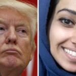 Trump y Hoda Muthana