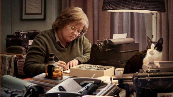 Melissa McCarthy en la piel de Lee Israel Harper en la película '¿Podrás perdonarme algún día?'