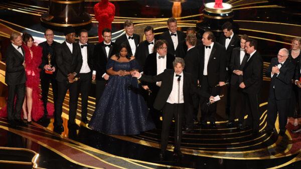 El equipo de 'Green Book' recoge el Oscar a Mejor Película