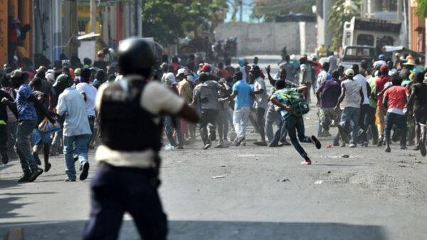 Enfrentamientos en Haití